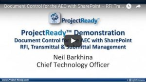 Document Control for the AEC with SharePoint – RFI, Transmittal & Submittal Management